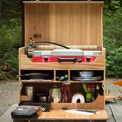 木工教程:自己动手做一个移动厨房的方