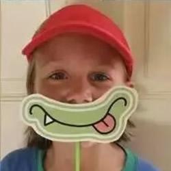 简单又搞笑的儿童大嘴巴面具手工制作