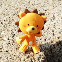 彩泥或超轻粘土制作可爱的小狮子图解教程