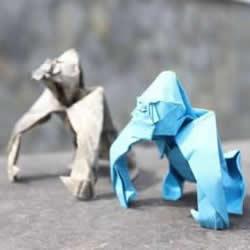 超逼真的立体动物折纸 酷炫动物折纸作品欣赏