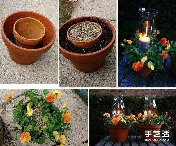 废旧物品手工diy制作花盆的创意大全图片