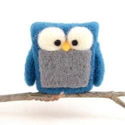 漂亮的羊毛毡小玩意 呈现这世界美好的一