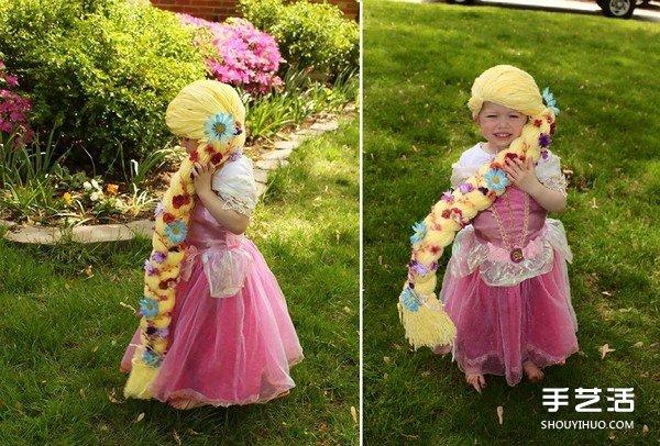 让癌症小女孩变身最萌小公主