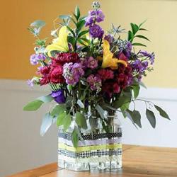 6个塑料瓶组合而成的加强版花瓶手工DIY制作