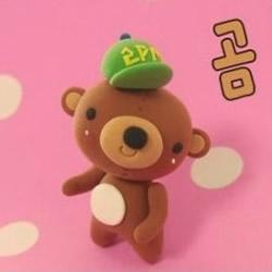 粘土小熊制作方法 可爱小熊粘土DIY图解教程