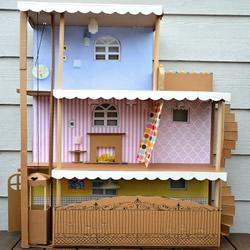 废纸箱变废为宝DIY手工制作好玩的儿童玩具
