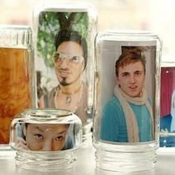 玻璃瓶废物利用DIY 简单创意制作另类相框