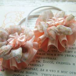 绸带头花发绳手工制作 漂亮发绳DIY图解教程