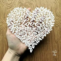 精美绝伦的纸雕贺卡 精致的纸雕作品图片
