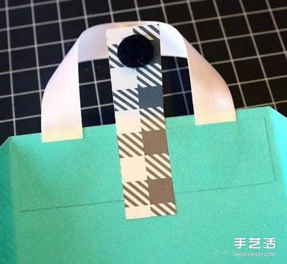 手提袋禮品袋製作方法 手工禮品袋的折法圖解