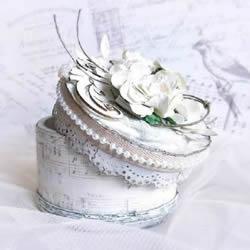 透明胶带纸筒废物利用DIY手工制作带盖收