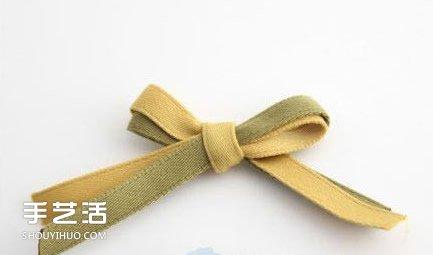 不织布玫瑰花发夹diy 手工布艺玫瑰发夹制作