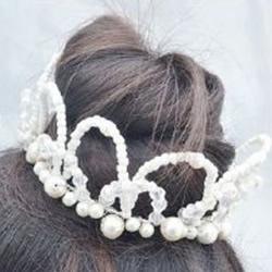 送给孩子的美丽串珠公主王冠制作方法图