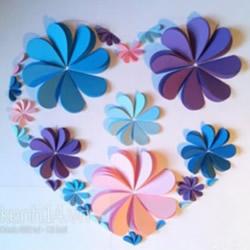 漂亮立体爱心手工制作 立体心形制作方法图解