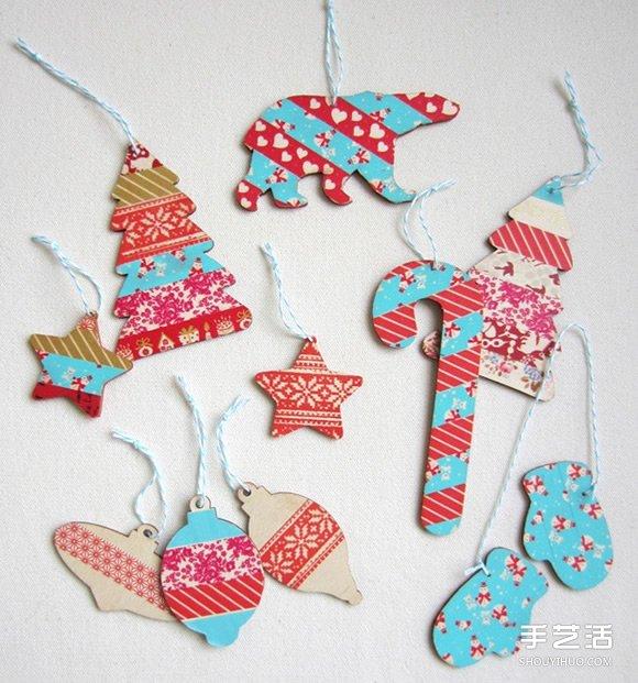 10个圣诞礼物制作灵感 创意圣诞卡片手工制作
