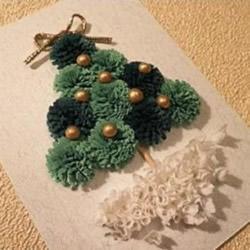 立体圣诞树贺卡DIY图解 立体圣诞贺卡制作