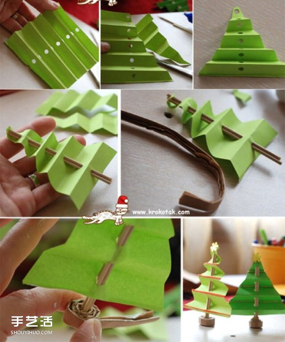 圣诞树DIY手工制作教程 儿童圣诞树制作方法