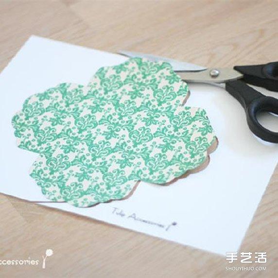 漂亮贺卡的制作方法 带丝带节日卡片手工制作