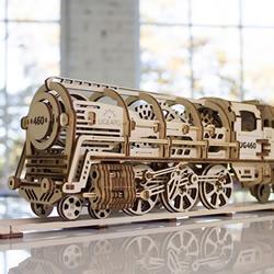 小火车动起来了!自体驱动机械齿轮DIY模