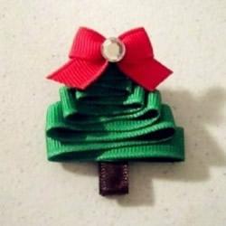 简单绸带圣诞树制作方法 圣诞树DIY图解教