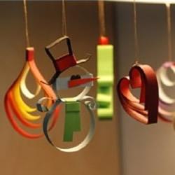 幼儿园圣诞挂饰DIY制作 自制圣诞挂饰手工图解