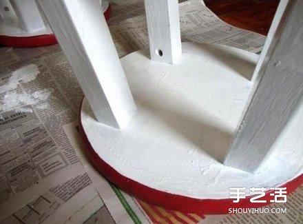 如何自己改造旧凳子 旧凳子改造方法图解教程