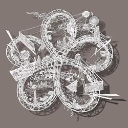 纸雕艺术:在宣纸上划出云霄飞车般华丽