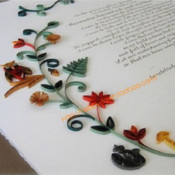 美美哒卷纸画DIY制作情书 这样够浪漫了吧!