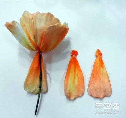 艳丽丝网花制作教程 手工丝袜花盆景diy图解 - www.shouyihuo.com