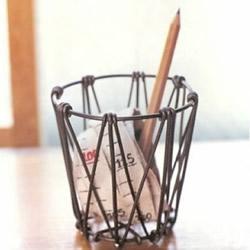 铝线笔筒的制作方法步骤 用铝线DIY笔筒的教程