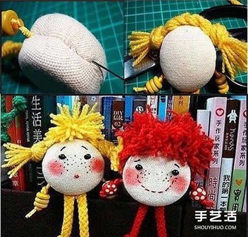 可爱布偶娃娃手工制作