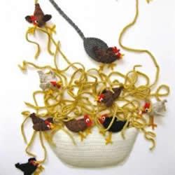 有趣的食物主题针织作品 有创意就不普通