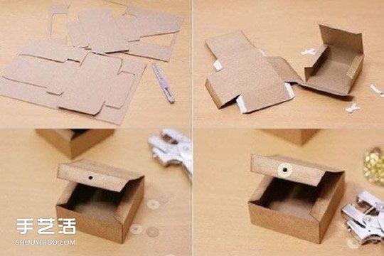 折纸大全 折纸盒子  接下去是包装教程啦,正宗的礼物盒包装方法