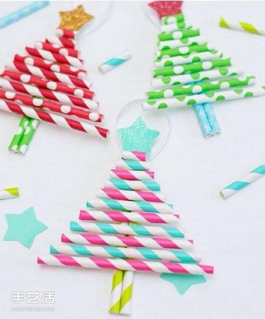 幼儿手工制作圣诞树教程 简单圣诞树的做法
