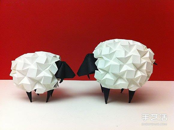 绵羊火龙熊猫 令人惊叹的折纸艺术作品欣赏