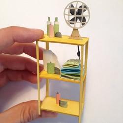 纸艺和水彩画DIY电影场景 可爱又精致的小