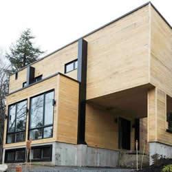 集装箱房改造:四个铁皮货柜变成豪华小别墅
