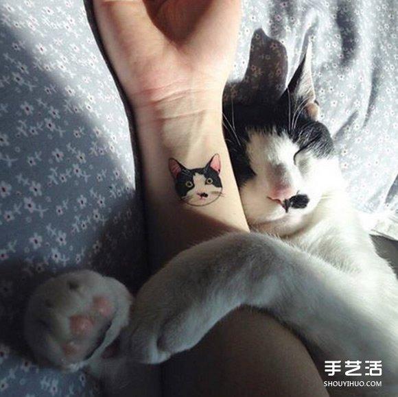 青莲花纹身图片大全