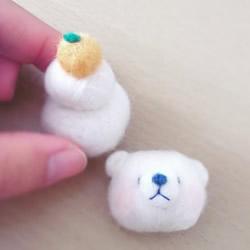 这是羊毛毡作品?还以为是北极熊造型汤