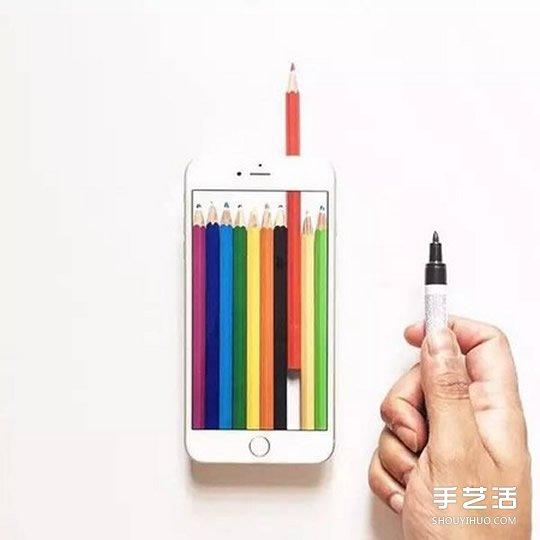 逃离烦闷生活:艺术家让手机变身可爱糖果盒