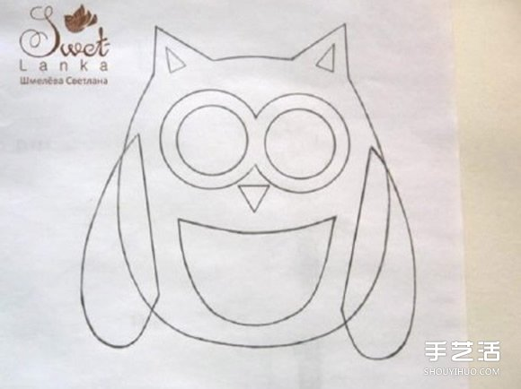 韩版可爱手绘简图