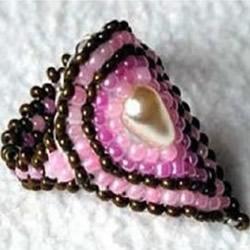 精致的串珠项链DIY教程 漂亮戒指串珠制作