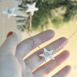 超轻粘土制作五角星 DIY浪漫挂饰或包装饰品