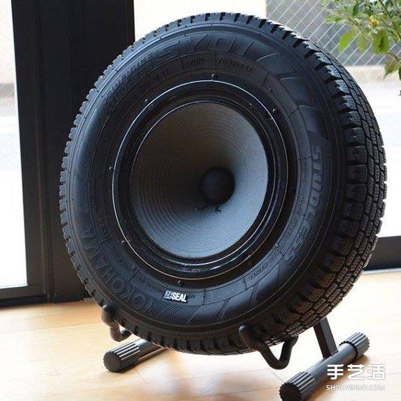 轮胎废物利用手工制作
