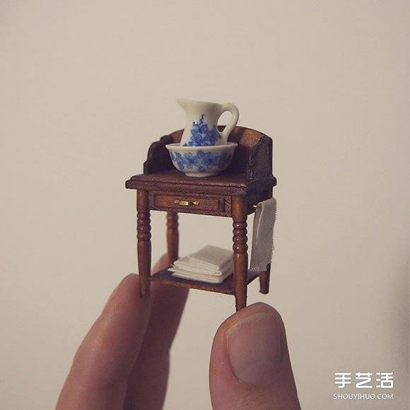模型制作 正文  从微型家具