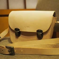 暖暖日式经典皮革小书包DIY手工制作图解