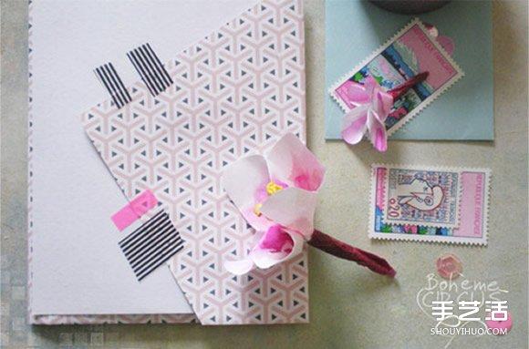 自己做信封的方法 简单浪漫信封的折法图解