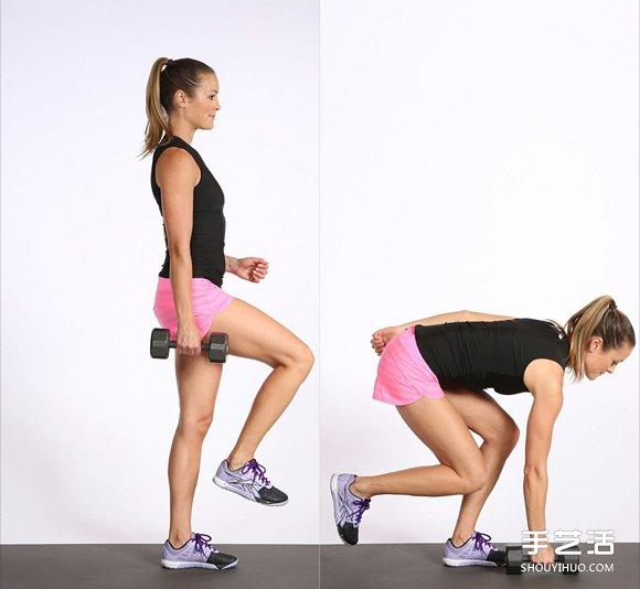 只要10分钟:简单动作让你在家就能练出翘臀 -  www.shouyihuo.com