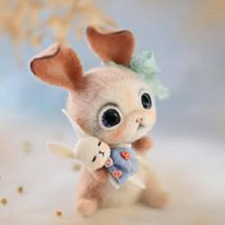 精致羊毛毡小动物作品图片 融化人心的萌
