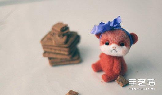 可爱的羊毛毡小动物,每一只都仿佛有充沛的情感